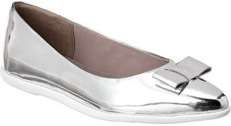 Cole Haan Zerogrand Bow Leather Ballet Flat