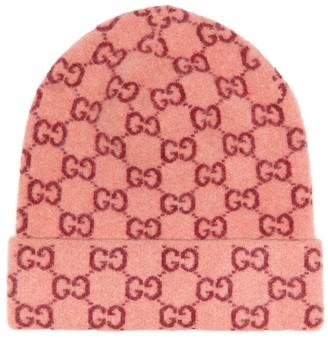 Gucci GG jacquard wool beanie