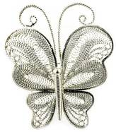 No Name Butterfly Silver Brooch