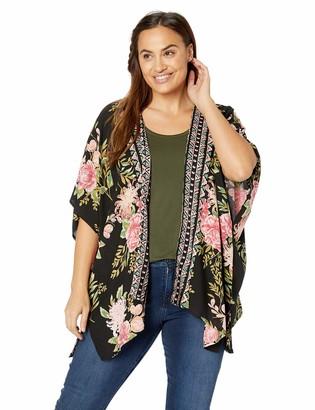 Angie Women's Plus Size Kimono