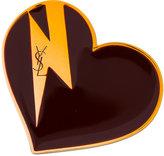 Saint Laurent Heart & Bolt brooch