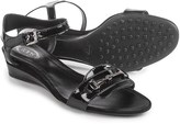 Tod's Two-Strap Wedge Sandals - Leather (For Women)