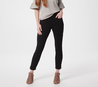 Belle By Kim Gravel Belle by Kim Gravel Petite Flexibelle Zip Ankle Jeans