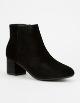 Soda Sunglasses CITY CLASSIFIED Velvet Womens Booties