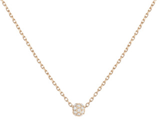 AUrate New York Diamond Ball Pendant