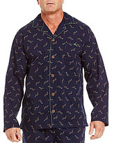 Tommy Bahama Woven Tossed Marlin Print Pajama Top