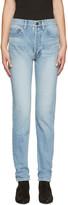 Saint Laurent Blue Original 80s Relaxed Fit Jeans
