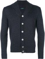 Zanone shawl collar cardigan - men - Virgin Wool - 46