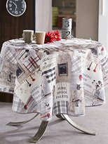 CALITEX Authentic Kitchen Rectangular Tablecloth 240 x 150 cm grey