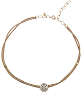Selim Mouzannar Pavé Diamond Disc Choker Necklace