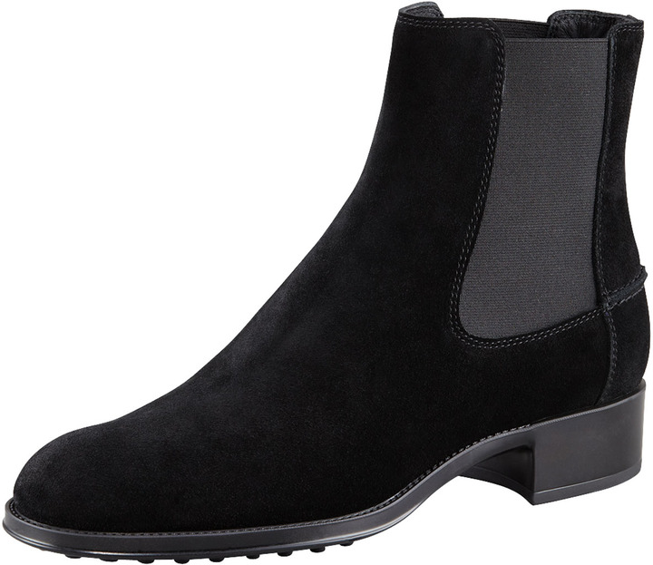 Tod's Gore-Detailed Flat Boot