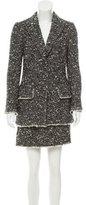 Dolce & Gabbana Bouclé Skirt Suit w/ Tags
