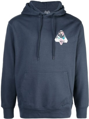 Palace Chest Print Hoodie