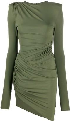 Alexandre Vauthier Draped Mini Dress