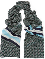 Tory Burch Printed Wool Scarf