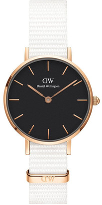 Daniel Wellington Petite Dover 28mm RG Black Dial
