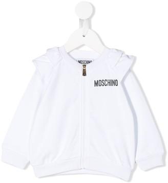 MOSCHINO BAMBINO Logo Bomber Jacket