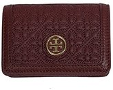 Tory Burch Bryant Leather Foldable Card Case