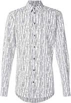 Dolce & Gabbana swirling floral print shirt