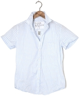 Frank And Eileen Womens Billy Jean Grid Shirt