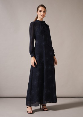 Phase Eight Melina Tie Maxi Dress