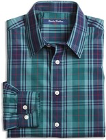 Brooks Brothers Boys' Non Iron Plaid Shirt