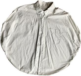 Maison Martin Margiela Pour H&m Grey Cotton Tops