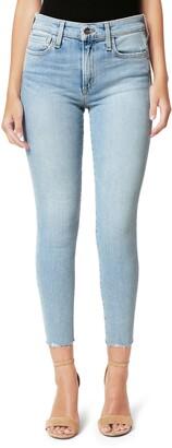 Joe's Jeans Flawless The Icon Cut Hem Crop Skinny Jeans