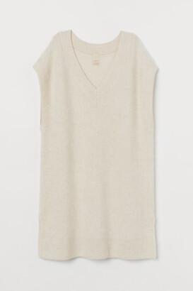 H&M Knitted Alpaca-blend gilet