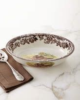 Spode Woodland Rimmed Serving Dish with Rabbit/Pheasant