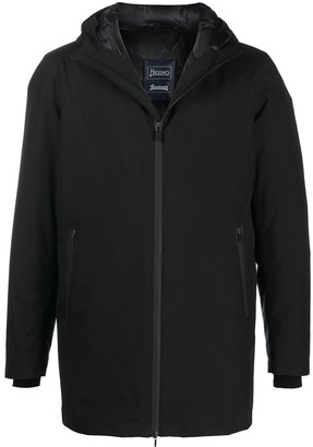 Herno Quilted Lining Hood Coat