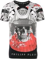 Philipp Plein skull print sports T-shirt - men - Cotton - S