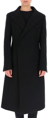 Bottega Veneta Longline Single Breasted Coat