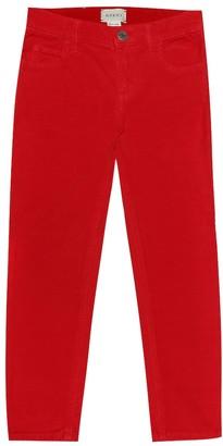 Gucci Kids Brushed-cotton pants