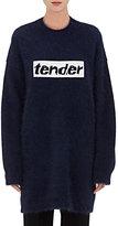 Alexander Wang Women's Tender Wool-Angora Sweater-BLUE