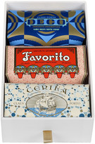 Claus Porto Deco Collection Gift Box - Set of 3 Soaps - Deco/Favorito/Cerina