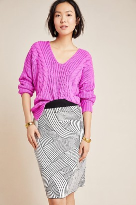 Maeve Jovana Sweater Pencil Skirt