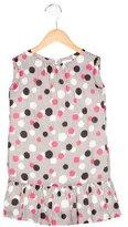 Milly Minis Girls' Sleeveless Dot Print Dress