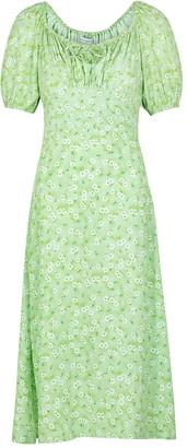 Faithfull The Brand Lira floral-print midi dress