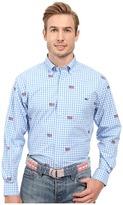 Vineyard Vines Gingham Flag Murray Shirt