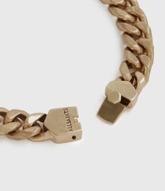 AllSaints Curb Gold-Tone Chain Bracelet