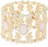 Charlotte Russe Embellished Filigree Stretch Cuff Bracelet