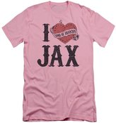 Sons Of Anarchy - Mens I Heart Jax Slim Fit T-Shirt