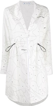 Off-White Puzzle Coulisse shirt dress