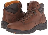 Timberland TiTAN(r) 6 Soft Toe (Coffee Full-Grain Leather) Men's Work Boots