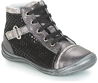 GBB ROMIE girls's Shoes (High-top Trainers) in Grey