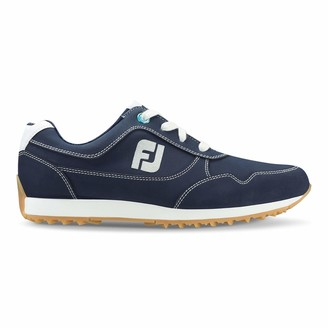 Foot Joy Women's Sport Retro Golf Shoes Blue 7.5 W