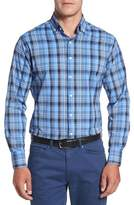Peter Millar Pops Performance Plaid Sport Shirt