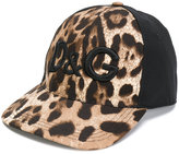 Dolce & Gabbana leopard print baseball cap