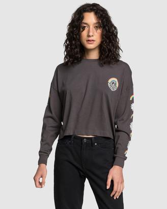 Quiksilver Womens Originals Screen Long Sleeve T Shirt